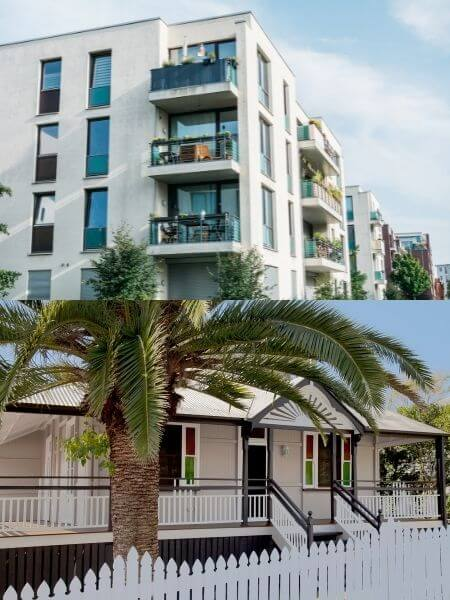 Unit/Apartment or House when investing for short term rental in Cairns